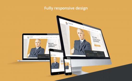 Defender SEO friendly WordPress Law Firms Theme