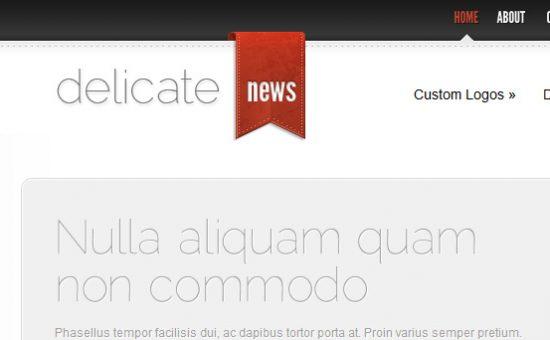 DelicateNews WordPress Theme