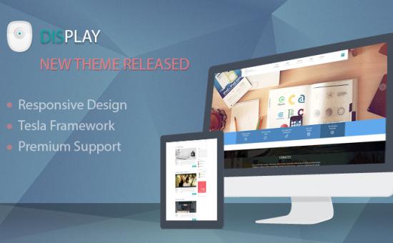 Display WordPress Business Theme