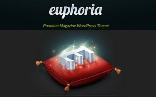 Euphoria Magazine WordPress Theme