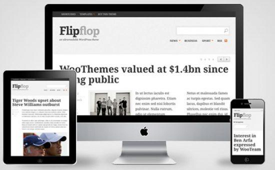 Flipflop Responsive WordPress Theme