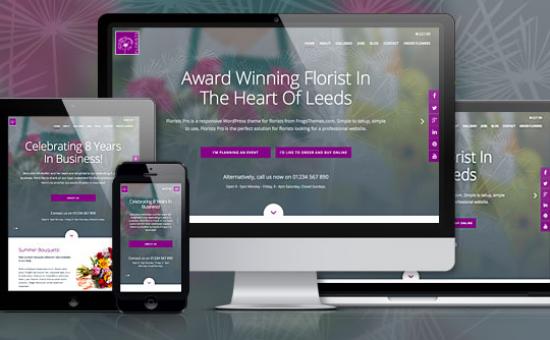 Florists Pro WordPress Sells Plants Theme