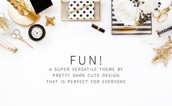 Fun WordPress Genesis Framework Theme