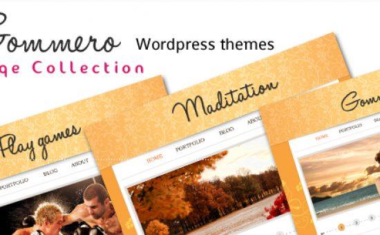 Gommero WordPress Fashion Theme