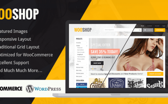 Highly Professional WordPress WooCommerce Theme