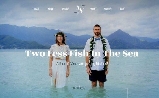 Hitched WordPress Wedding Theme