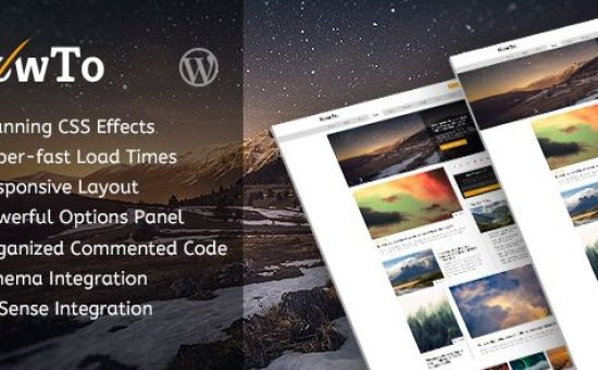 HowTo WordPress Movie Blog Theme