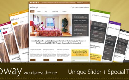 Infoway Responsive WordPress Business Theme