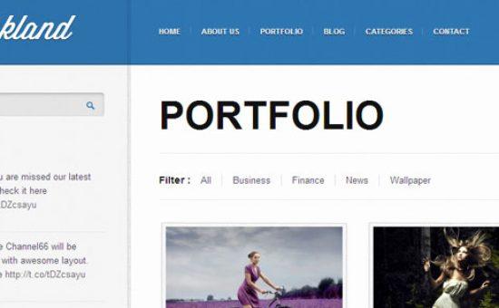 Inkland Portfolio Page