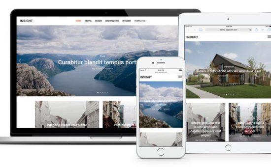 Insight WordPress Photography Blog Theme