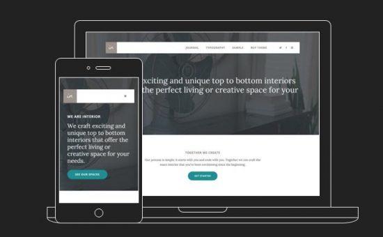 Interior Pro WordPress Digital Agency Theme
