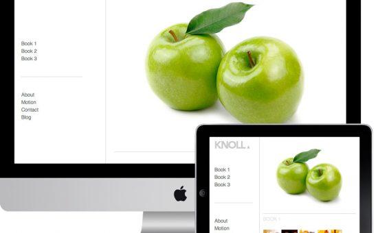 Knoll Responsive Masonry Portfolio Theme