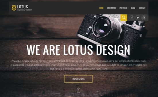 Lotus WordPress Business Theme