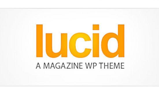 Lucid WP Magazine Style Theme