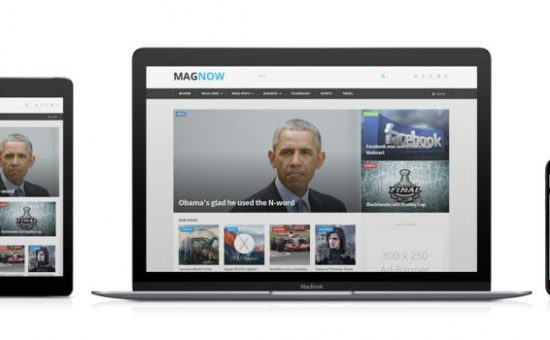MagNow Responsive WordPress Magazine Theme