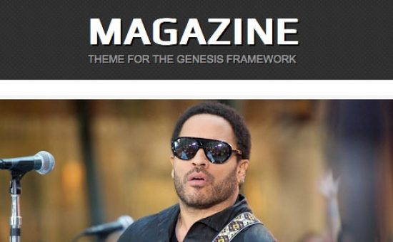 Magazine Responsive WordPress Theme