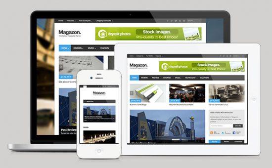 Magazon WordPress Magazine Theme