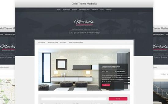 Marbella WordPress Real Estate Theme