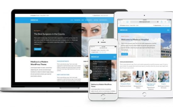 Medicus WordPress Medical & Hospitals Theme