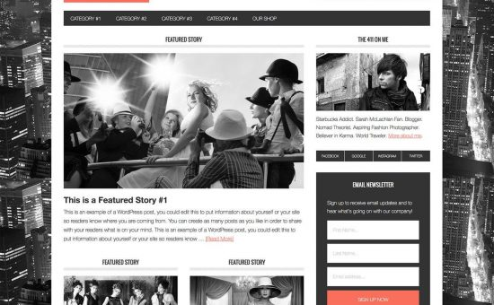 Metro Pro WordPress Modern Magazine Theme