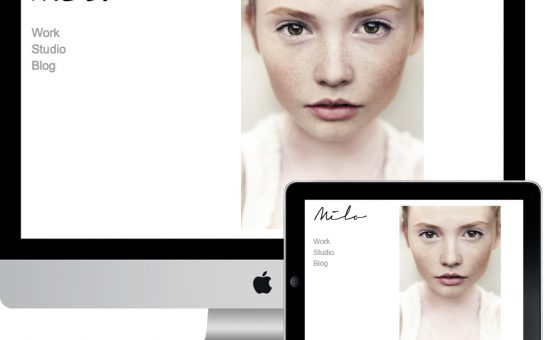 Milo Responsive Portfolio Galleries Theme