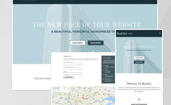 MultiDot WordPress Multipurpose Theme