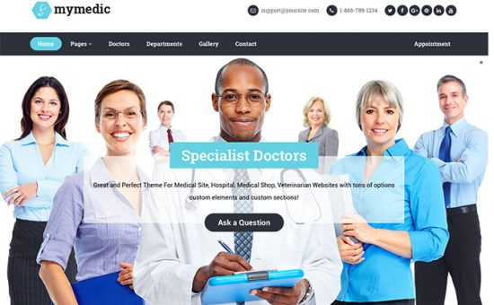MyMedic-WordPress-online-appointment-Theme