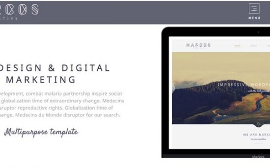 Narcos WordPress Multipurpose Theme