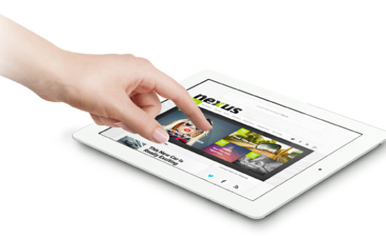 Nexus WordPress iPad Magazine Theme