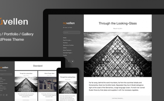 Nuvellen WordPress Bloggers & Writers Theme