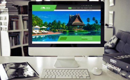 Oikia WordPress Real Estate Theme