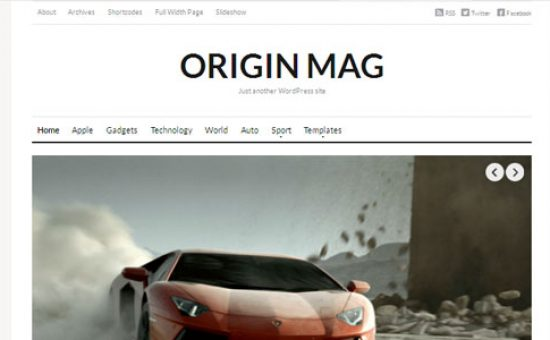 OriginMag Featured Video Page