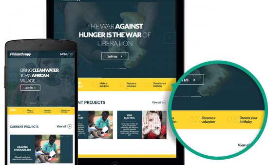 Philanthropy WordPress Non-profit Organizations Theme