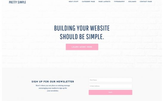 Pretty Simple WordPress Theme