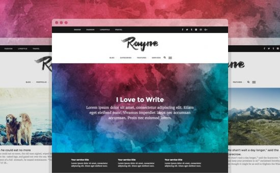Rayne WordPress Theme