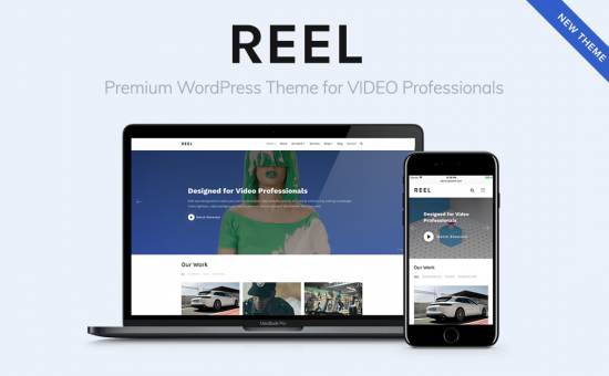 Reel WordPress Theme for Video Professionals