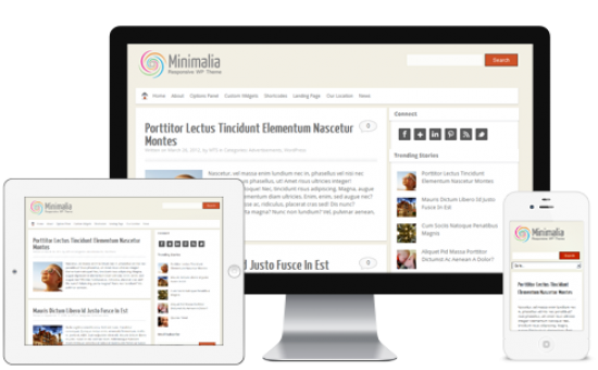 Responsive Minimalia WordPress Theme