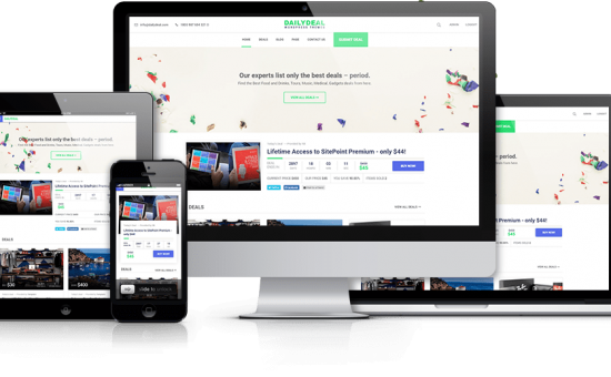 Responsive WordPress Deals & Coupon Theme