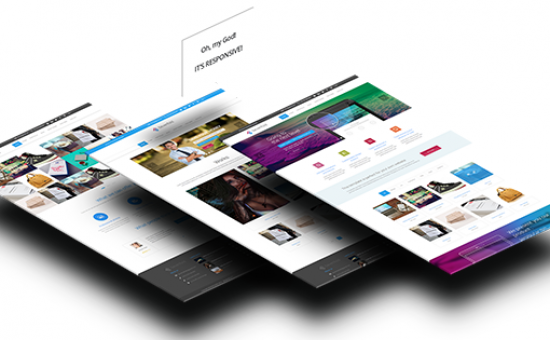 Sevenfold WordPress Multipurpose Creative Theme