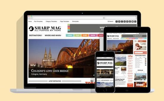 Sharp Mag WordPress Magazine Theme