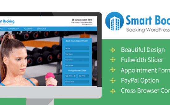 SmartBooking WordPress Appointment Theme