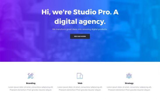 Studio Pro WordPress Theme