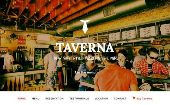 Taverna WordPress Restaurant Theme