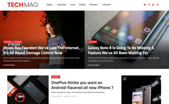 TechMag WordPress Theme