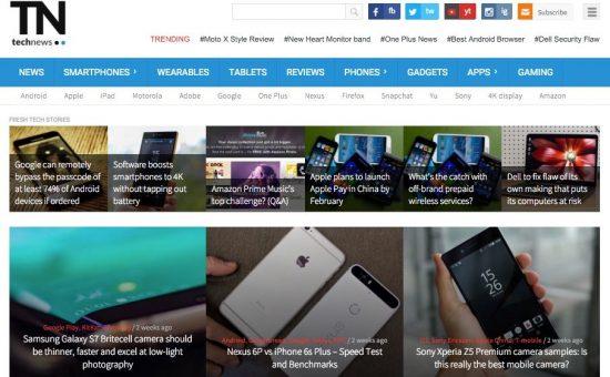 TechNews WordPress Technology Blogging Theme