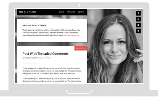 The 411 Pro WordPress Theme