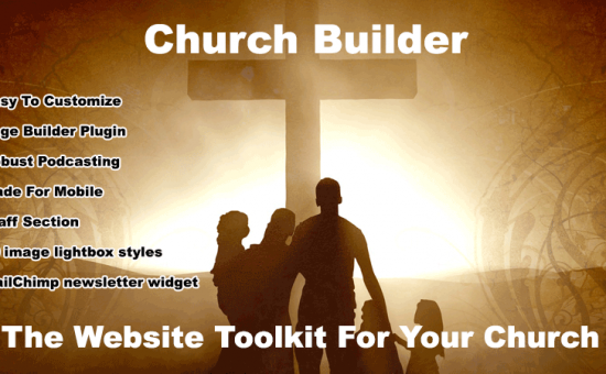 The Church Builder WordPress NGO Theme