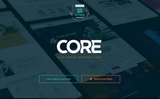 The Core Multi purpose WordPress Theme
