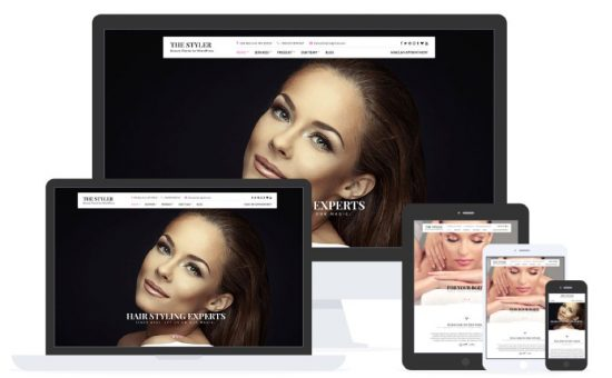 The Styler WordPress Beauty & Health Service Theme