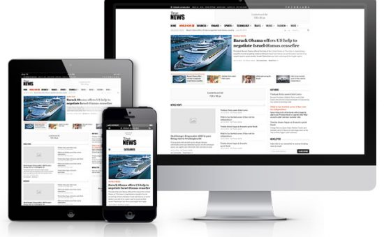 TrueNews Responsive WordPress Magazine Style Theme
